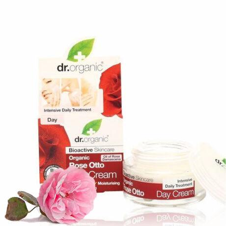 Dr. Organic Bio damaszkuszi rózsa nappali arcápoló