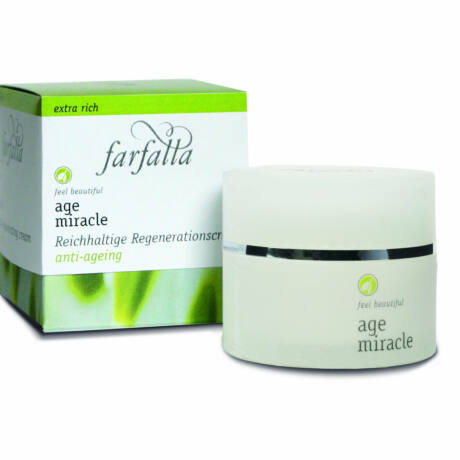 Farfalla Age Miracle tápláló regeneráló krém