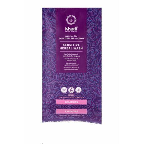 Khadi SENSITIVE HERBAL WASH por alapú sampon (50 g)
