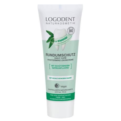 Logona Logodent 360° Daily Care fogkrém borsmentával (75 ml)
