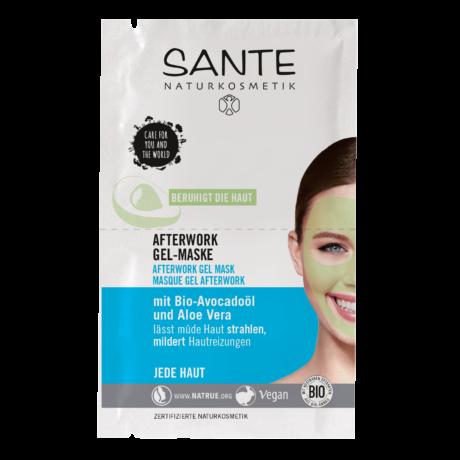 Sante Afterwork nyugtató hatású gélmaszk (2 × 4 ml)