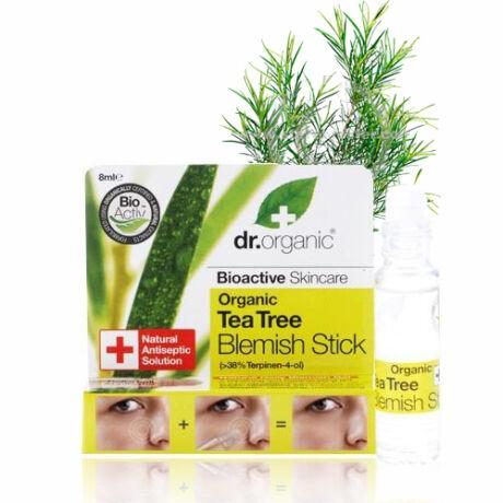 Dr. Organic Bio teafaolaj ecsetelő gél pattanások kezelésére