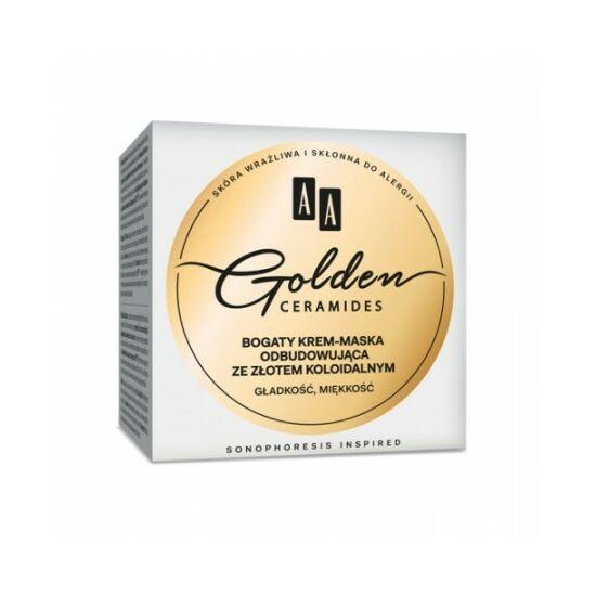 AA Golden Ceramides Gazdag helyreállító krémpakolás (50 ml)