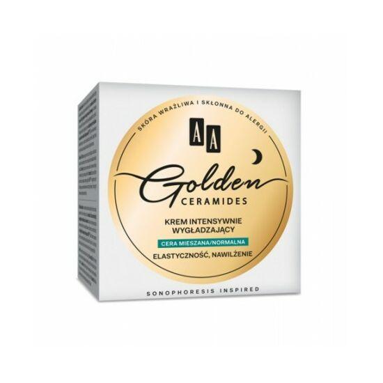 AA Golden Ceramides Intenzív bőrsimító éjszakai krém vegyes/normál bőrre (50 ml)