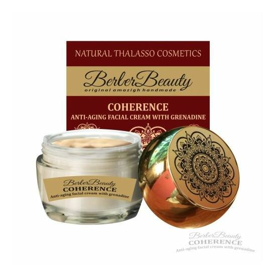 Berber Beauty Coherence gránátalmás antiaging krém
