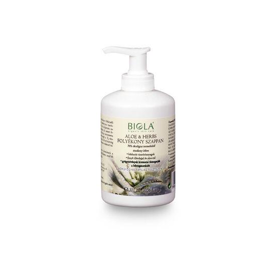 Biola Aloe és Herbs folyékony szappan