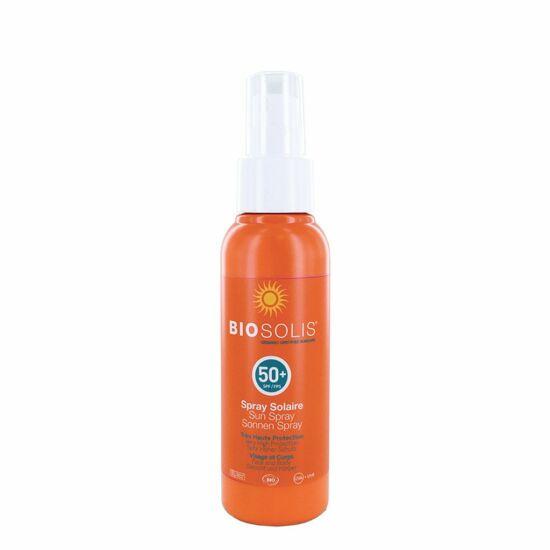 Biosolis Naptej spray SPF50