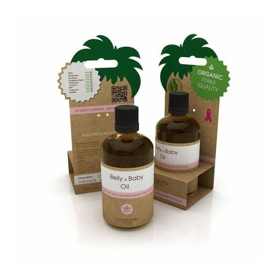 Coconutoil Cosmetics Baba-mama masszázsolaj (95 ml)