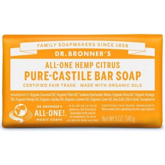 Dr. Bronner's Citrus-narancs szilárd szappan