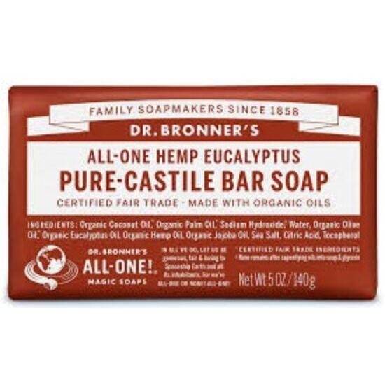 Dr. Bronner's Eukaliptusz szilárd szappan