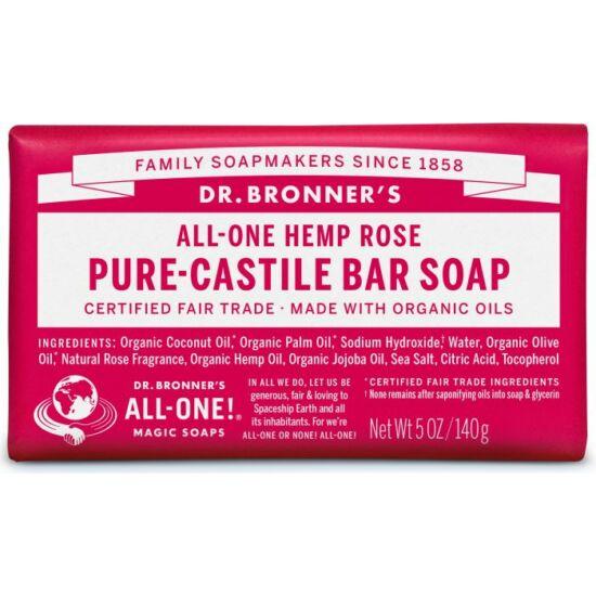Dr. Bronner's Rózsa szilárd szappan