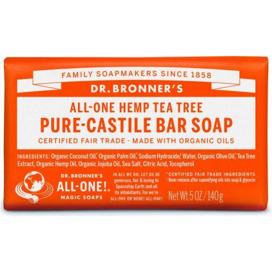 Dr. Bronner's Teafa szilárd szappan