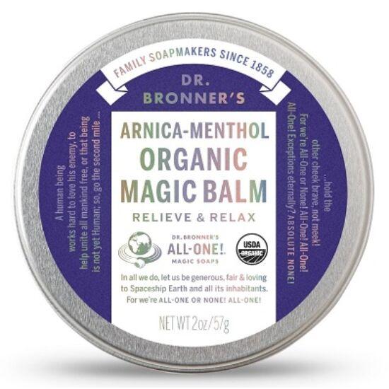 Dr. Bronner's Bio árnika-mentol balzsam (60 g)