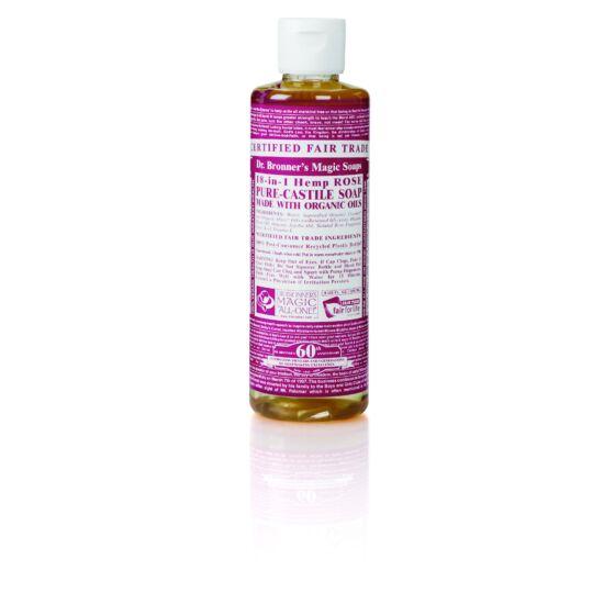 Dr. Bronner's Rózsa folyékony szappan koncentrátum