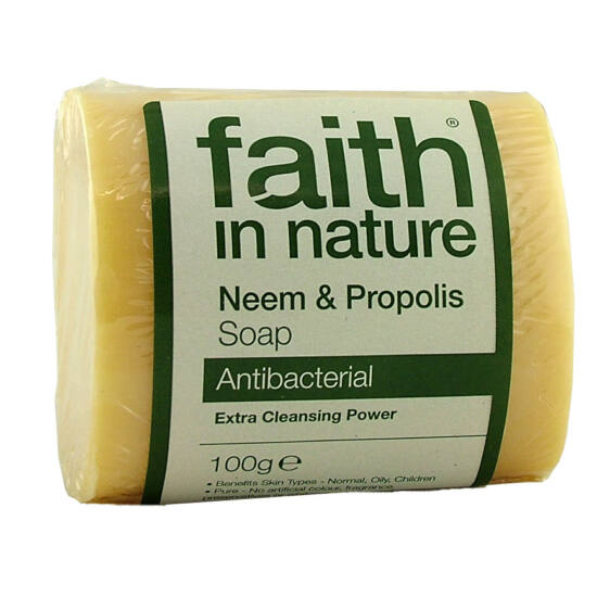 Faith in Nature neemfa és propolisz szappan