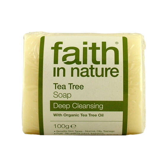 Faith in Nature Bio teafa szappan