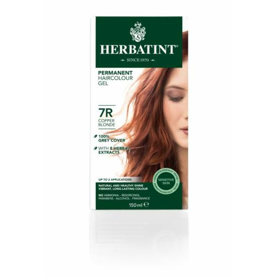 Herbatint 7R Réz szőke hajfesték