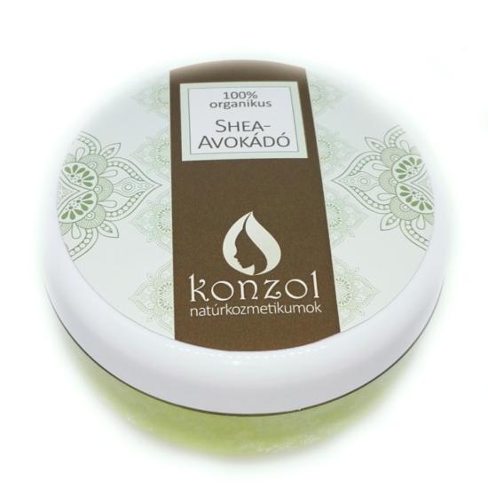 Konzol Shea-avokádó krémkeverék, organikus (30 ml)