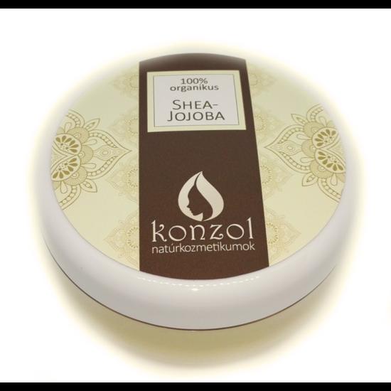 Konzol Shea-Argán Krémkeverék, organikus (100 ml)
