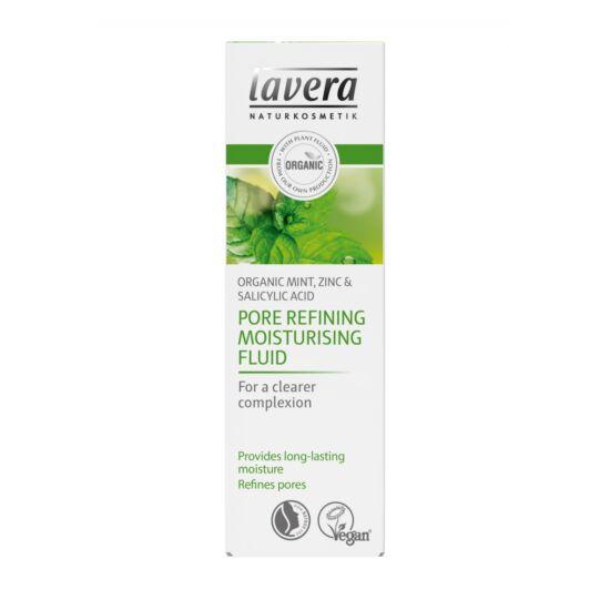 Lavera FACES Bőrfinomító hidratáló krém zsíros bőrre - menta, cink (50 ml)