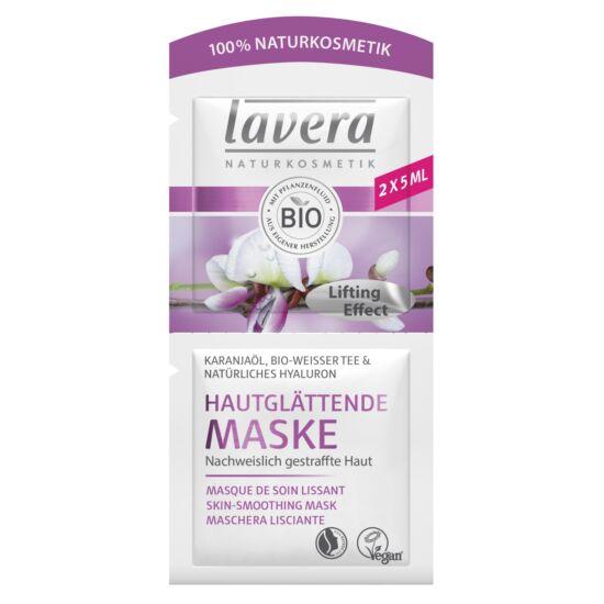 Lavera FACES Bőrfeszesítő arcmaszk - karanjaolaj, fehér tea (2×5 ml)