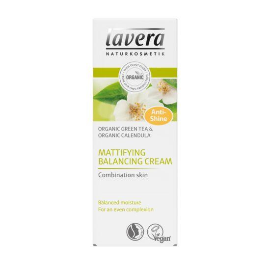 Lavera Nappali krém vegye bőrre - zöld tea, körömvirág (50 ml)