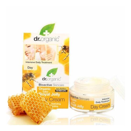 Dr. Organic Bio méhpempő öregedésgátló nappali arckrém