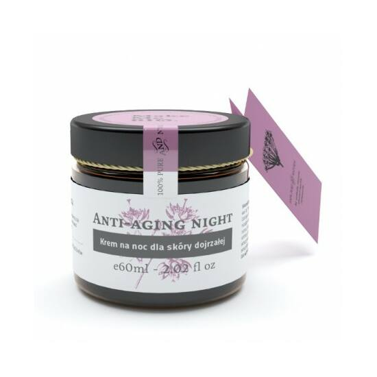 Make Me Bio Anti-Aging Night - Éjszakai arckrém érett bőrre (60 ml)