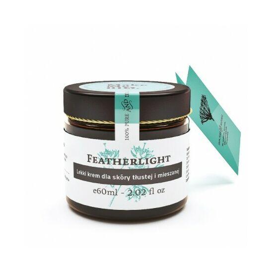 Make Me Bio Featherlight - Könnyű arckrém zsíros és vegyes bőrre (60 ml)