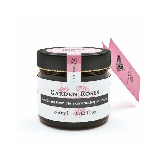 Make Me Bio Garden Roses - Hidratáló arckrém száraz, érzékeny bőrre (60 ml)