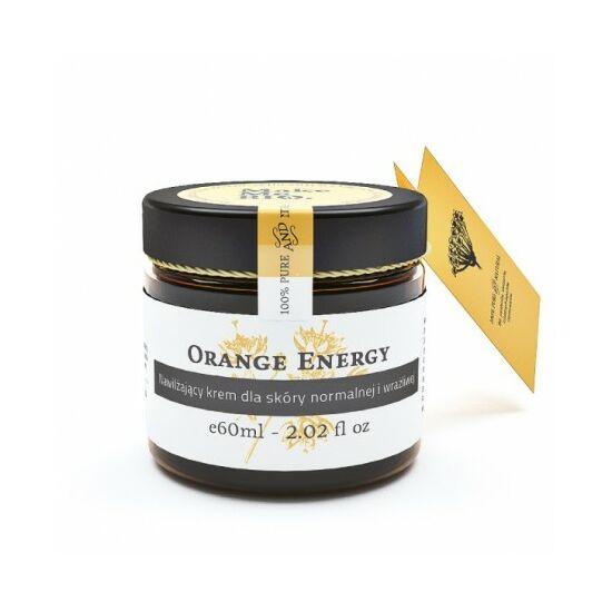 Make Me Bio Orange Energy - Hidratáló arckrém normál, érzékeny bőrre (60 ml)