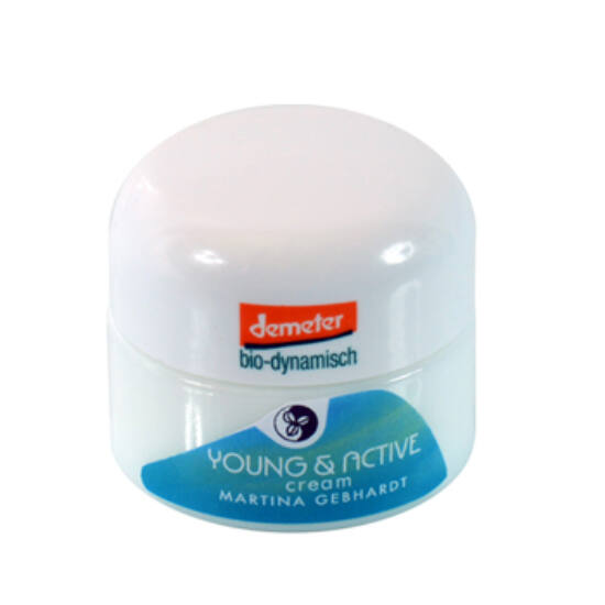 Martina Gebhardt Young&Active Arckrém 15 ml