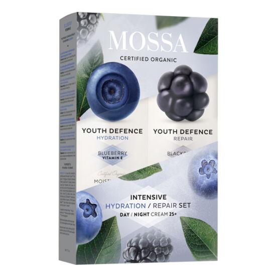 Mossa Intenzív bőrmegújító szett E-vitaminnal és Omega 3/6-tal