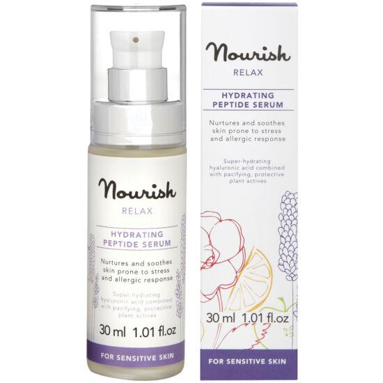 Nourish Relax Hidratáló peptid szérum - érzékeny, irritált bőrre
