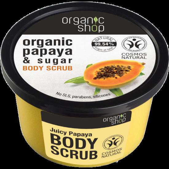 Organic Shop Papaya Juice Bőrradír - papaya, cukor (250 ml)