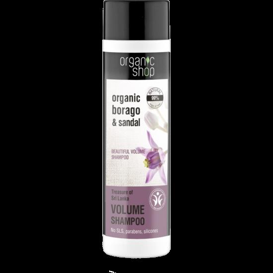 Organic Shop Sri Lanka Kincse Dúsító sampon - borágó, szantálfa (280 ml)