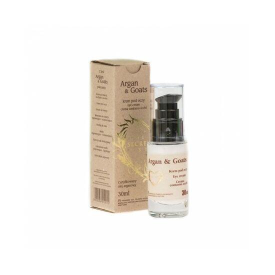 Secret Soap ARGAN & GOATS Argánolaj - kecsketej szemkörnyékápoló (30 ml)