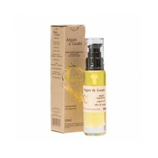 Secret Soap ARGAN & GOATS 100% Argánolaj (50 ml)