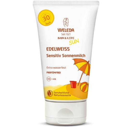 Weleda Edelweiss fényvédő testápoló érzékeny bőrre SPF30 (150 ml)