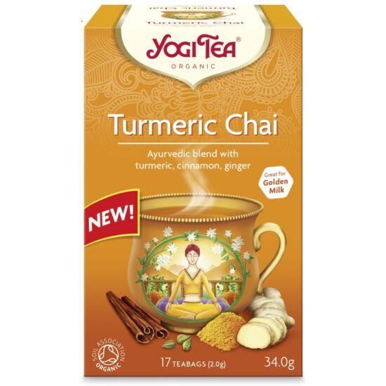 Yogi Kurkumás chai tea - filteres (17 db)