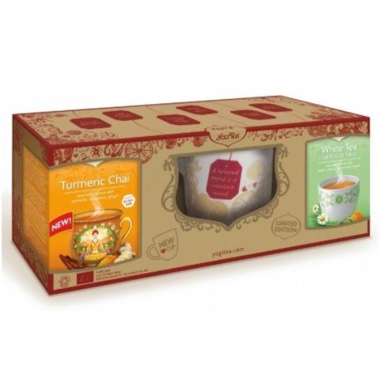 Díszdobozos Yogi tea ajándékcsomag (1 db)