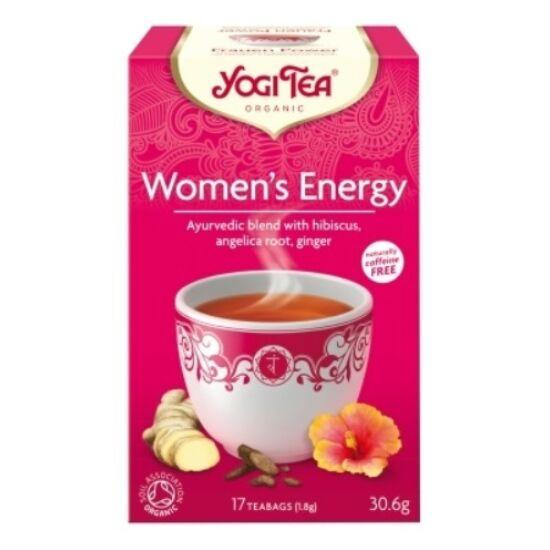 Yogi Női energia tea - filteres (17 db)