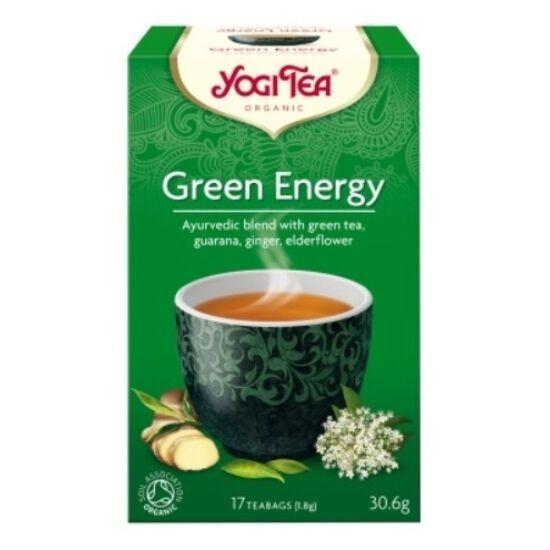Yogi Zöld energia tea - filteres (17 db)