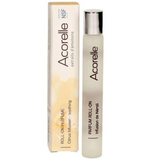 Acorelle Bio parfüm Roll-on Narancsvirág infúzió - nyugtató (10 ml)