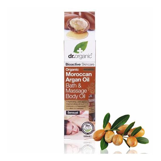 Dr. Organic Bio marokkói argánolaj fürdő- és masszázsolaj