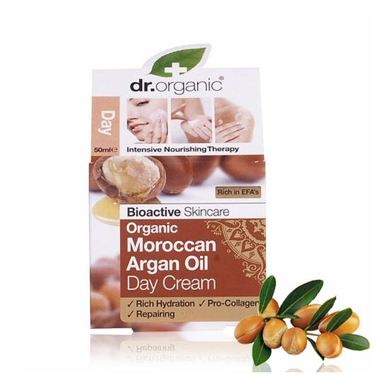 Dr. Organic Bio marokkói argánolaj nappali arcápoló