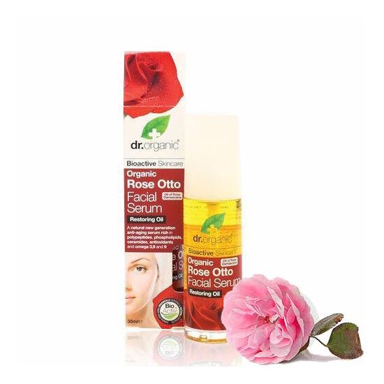 Dr. Organic Bio damaszkuszi rózsa arcápoló szérum