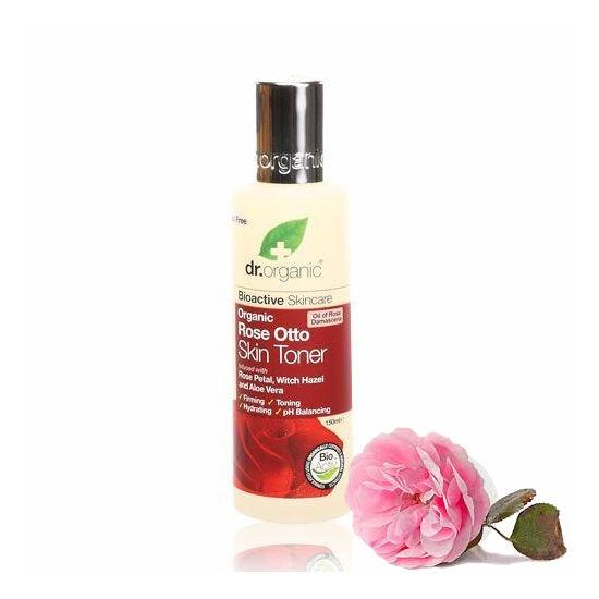 Dr. Organic Bio damaszkuszi rózsa arctonik