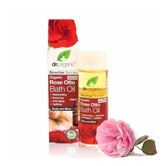 Dr. Organic Bio damaszkuszi rózsa fürdőolaj