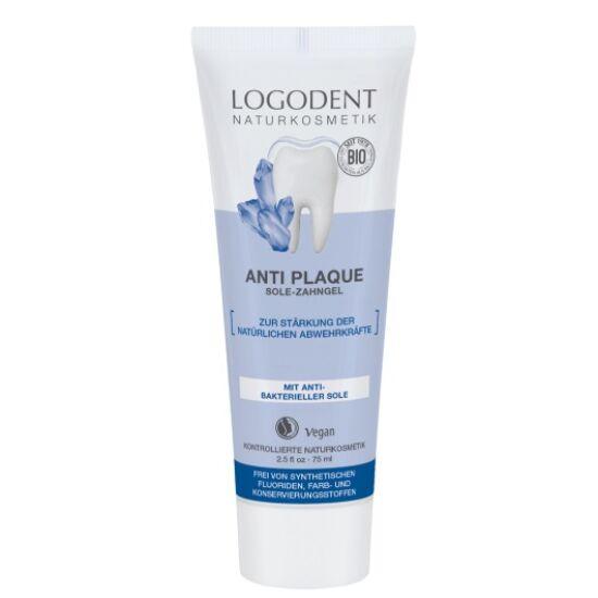 Logona Logodent Anti plaque sós foggél (75 ml)